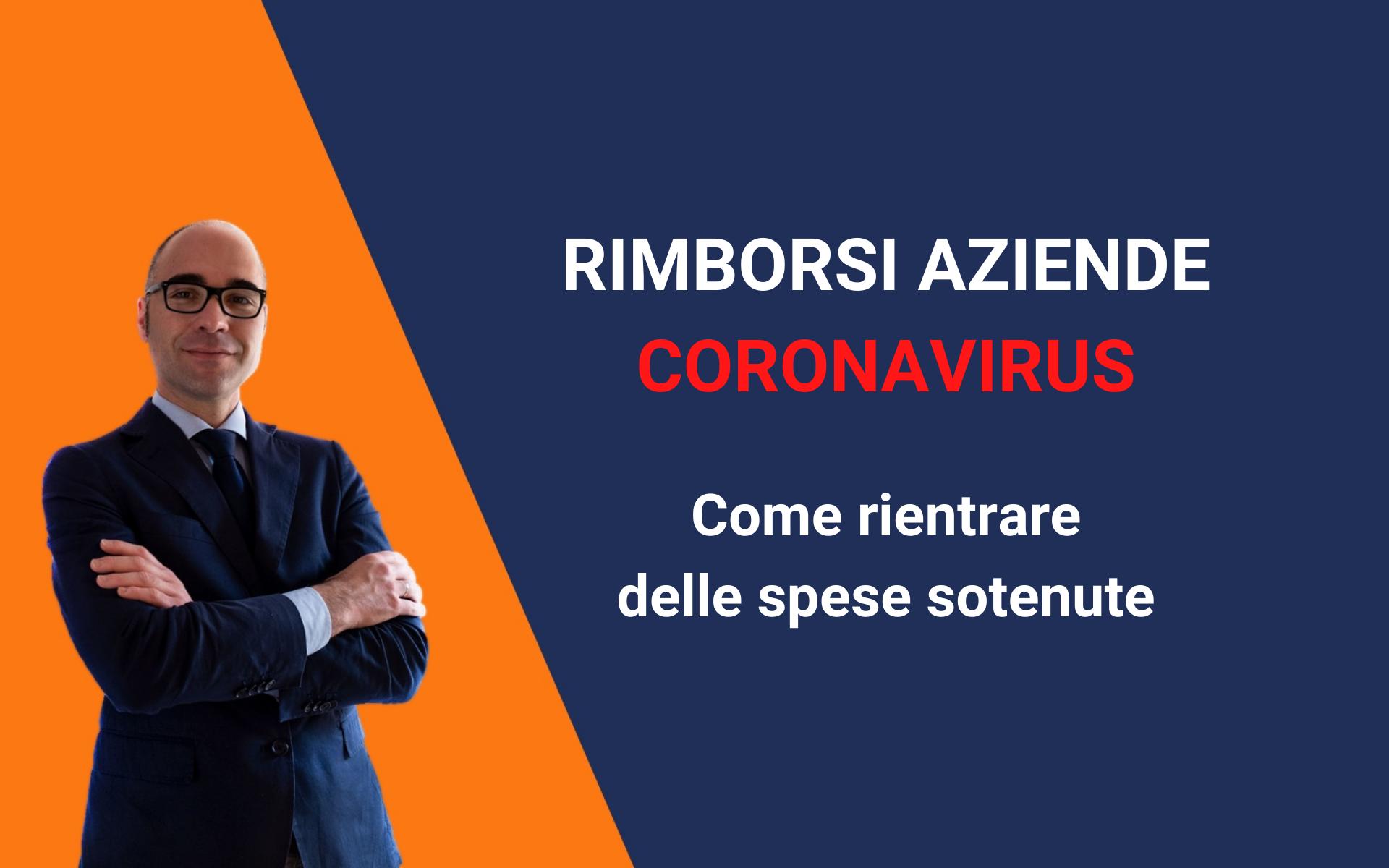 rimborsi aziende coronavirus